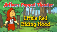 Game icon for Arthur's Puppet Theather: Little Red Riding Hood.