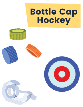 Ruff Bottle Cap Hockey