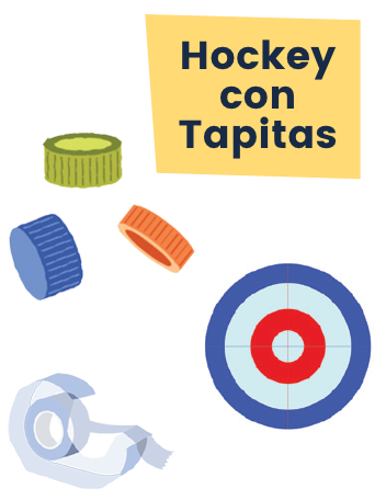 Ruff Hockey Con Tapitas