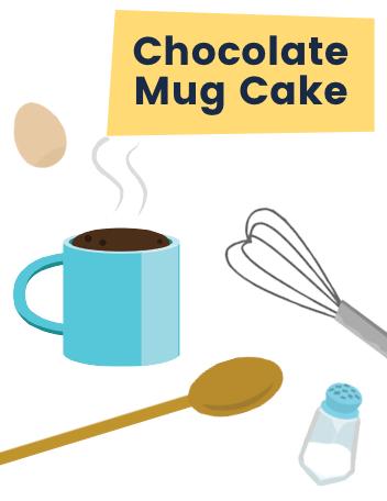 Ruff Chocolate Mug Cake