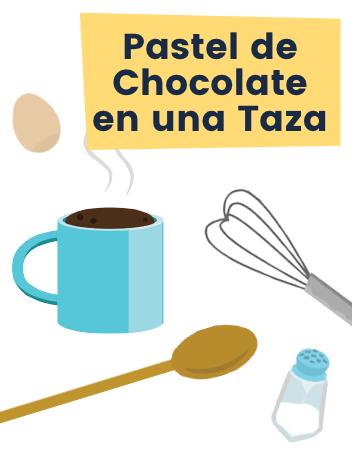 Ruff Pastel de Chocolate en una Taza