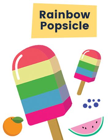 Ruff Rainbow Popsicle