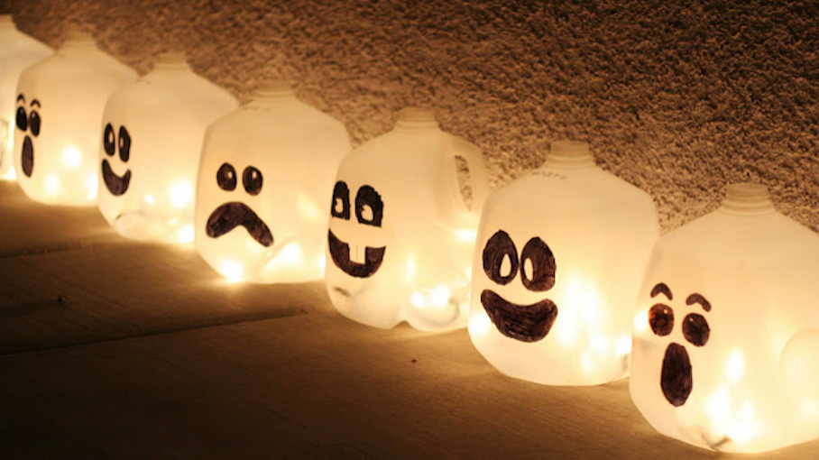 Glowing Ghost Jugs | Crafts for Kids | PBS KIDS for Parents