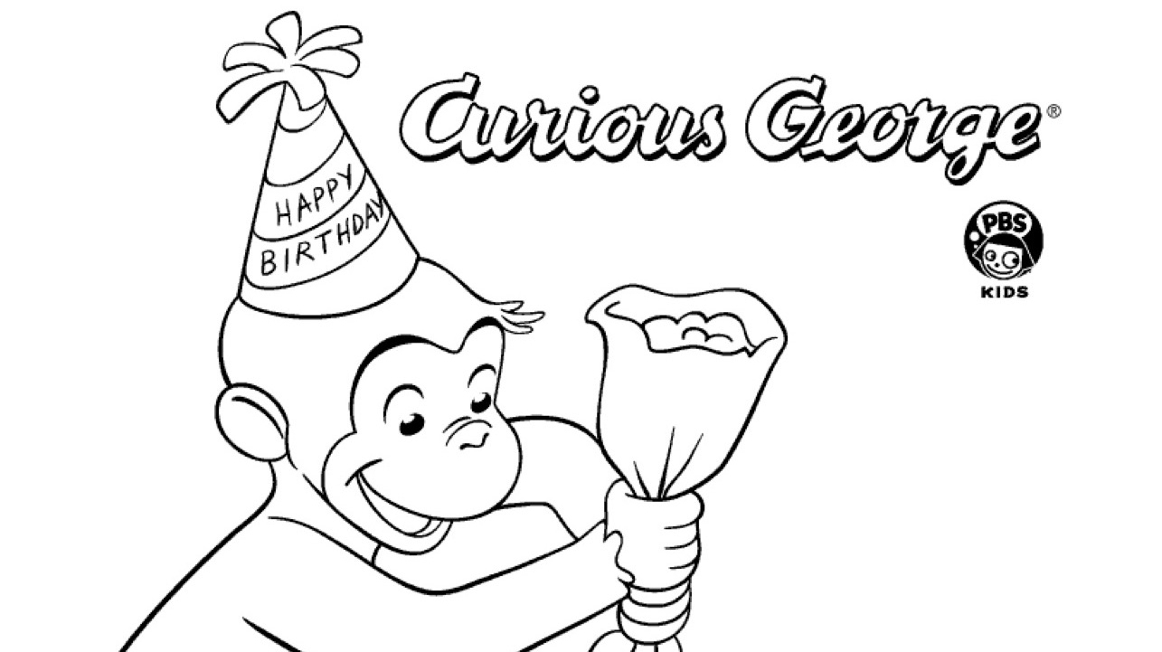 Amazing Birthday Cake Coloring Page Kids Coloring Pbs Kids For Parents Personalised Birthday Cards Beptaeletsinfo