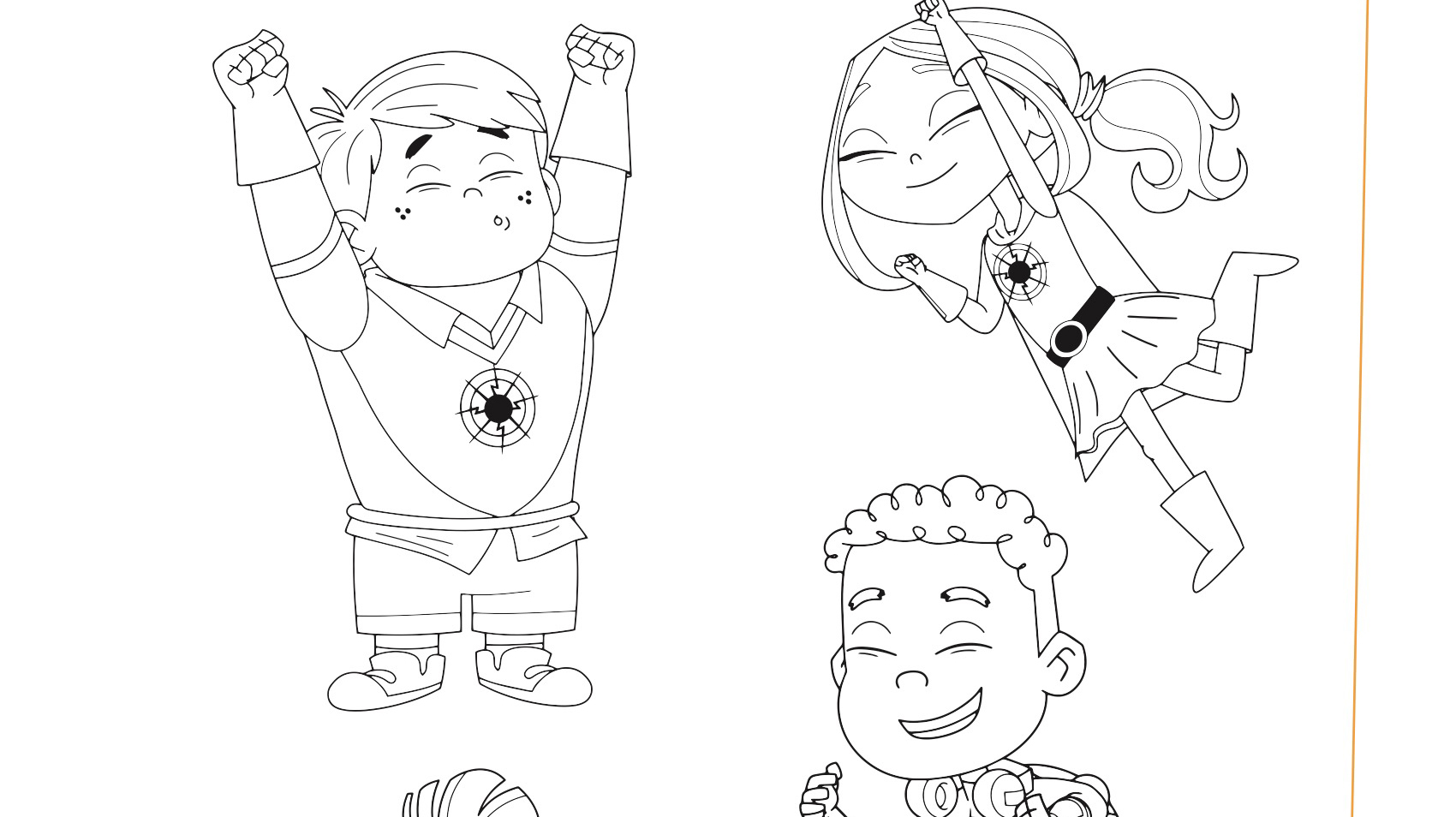 Sparks Crew Coloring Page Kids Coloring Pbs Kids For Parents