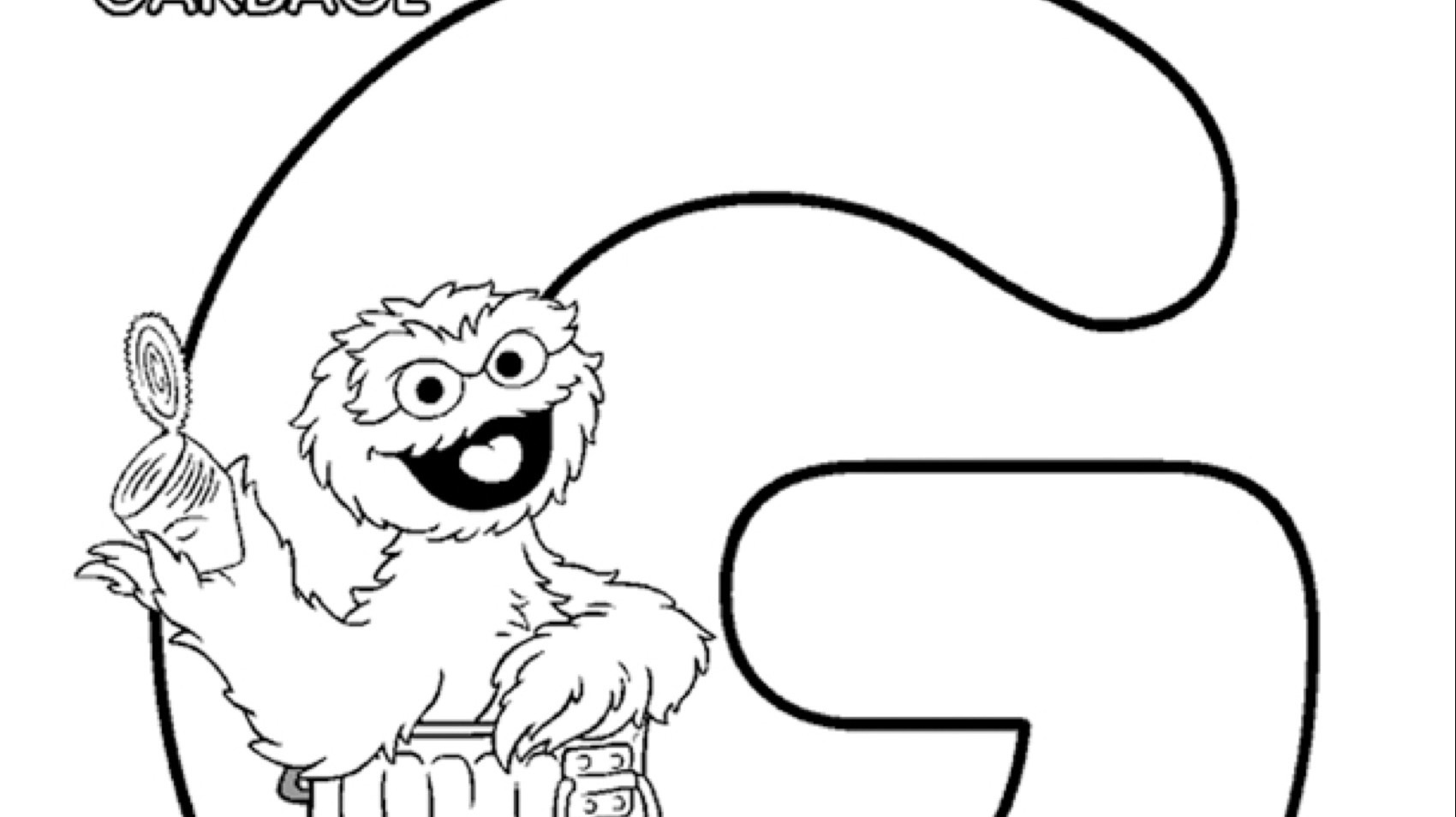The Letter G Coloring Page Kids Coloring Pbs Kids For Parents