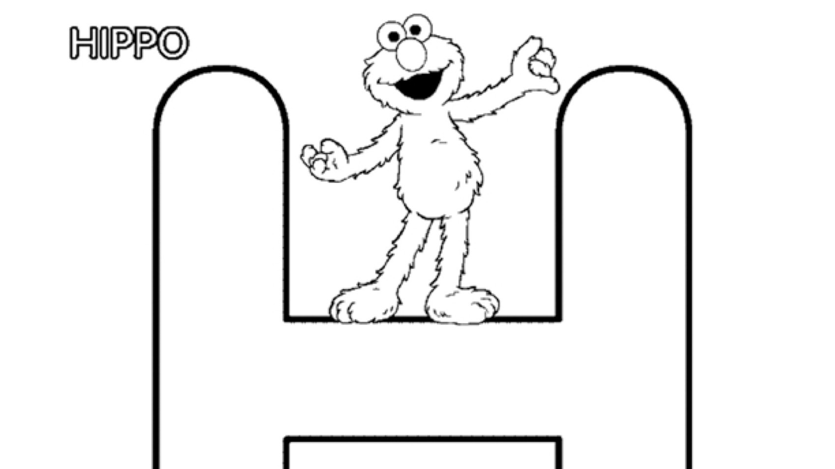 The Letter H Coloring Page Kids Coloring Pbs Kids For Parents