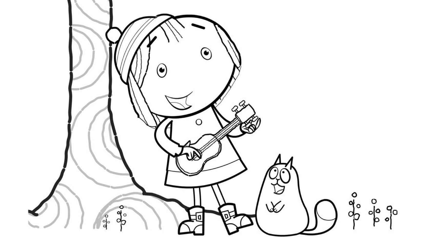 The Tree Coloring Page Kids Coloring Pages Pbs Kids For Parents