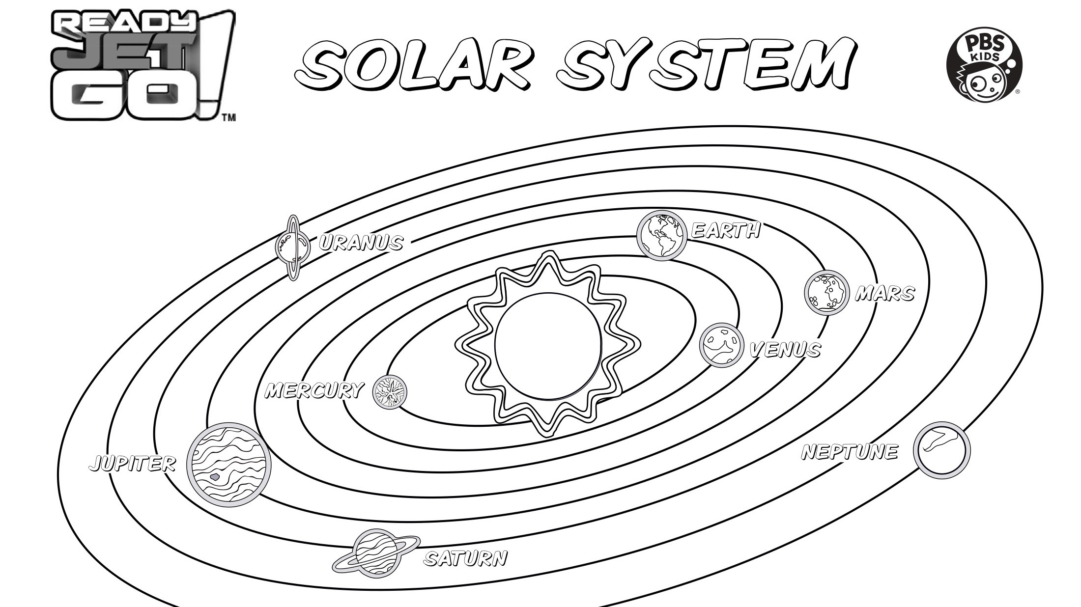 - Solar System Coloring Page Kids Coloring… PBS KIDS For Parents