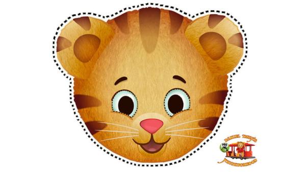 Daniel Tiger Friends Masks