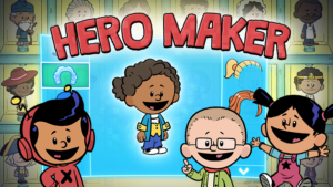 Game icon for Hero Maker.