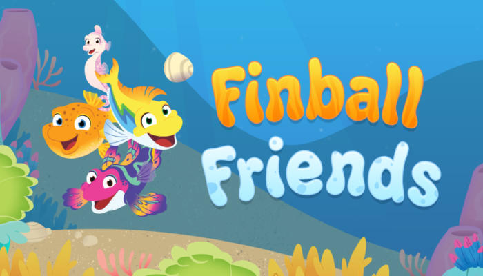 Finball Friends PBS logo