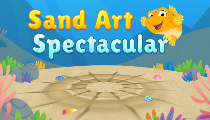 Sand Art Spectacular home screen