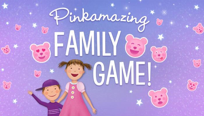 Pinkamazing Family Game