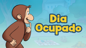 Game icon for Curious George Busy Day Spanish.
