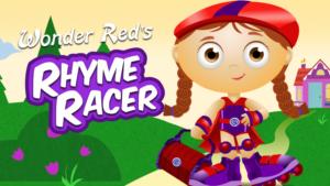 Wonder Red's Rhyme Racer