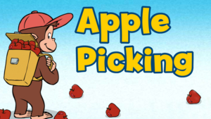 Image result for curious george apples