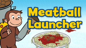 Game icon for Meatball Launcher.