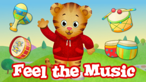 Game icon for Feel the Music.