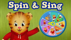 Game icon for Spin and Sing.