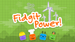 Game icon for Fidgit Power.