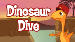 Game icon for Dino Dive.