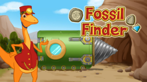 Game icon for Fossil Finder.