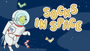 Game icon for Socks in Space.
