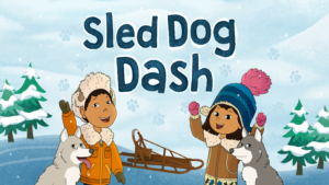 Game icon for Sled Dog Dash.