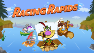 Game icon for Racing Rapids.