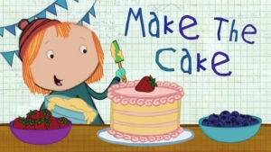 Game icon for Make the Cake.
