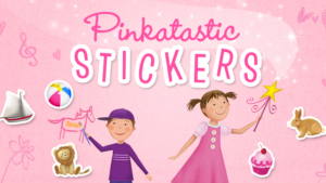 Game icon for Pinkatastic Stickers.