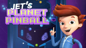 Game icon for Jet's Planet Pinball.