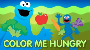 sesame street color me hungry - Color Games For Kindergarten