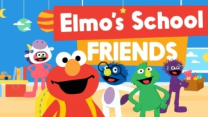 Game icon for Elmo's School Friends.