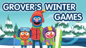 Game icon for Grover's Winter Games.