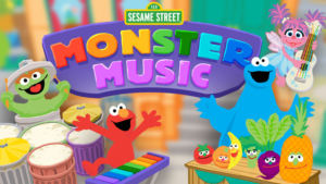 Game icon for Monster Music.