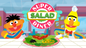 Game icon for Sesame Street Super Salad Diner.