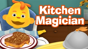 Sid The Science Kid. Kitchen Magician
