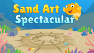 Game icon for Sand Art Spectacular.