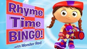 Rhyme time bingo