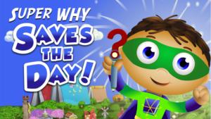 Super Why Saves the Day Whyatt Logo