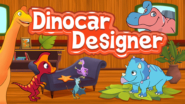Game icon for Dinocar Designer.