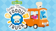 Game icon for Cookie Monster's Foodie Truck.