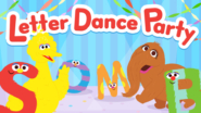 Game icon for Letter Dance Party.