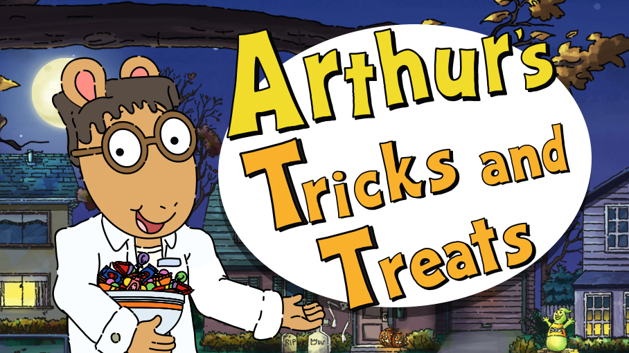Pbs Kids Halloween Dvd.Arthur Halloween Pbs Kids