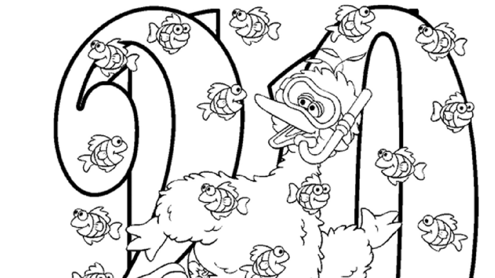 The Number 20 Coloring Page Kids Coloring Pbs Kids For Parents