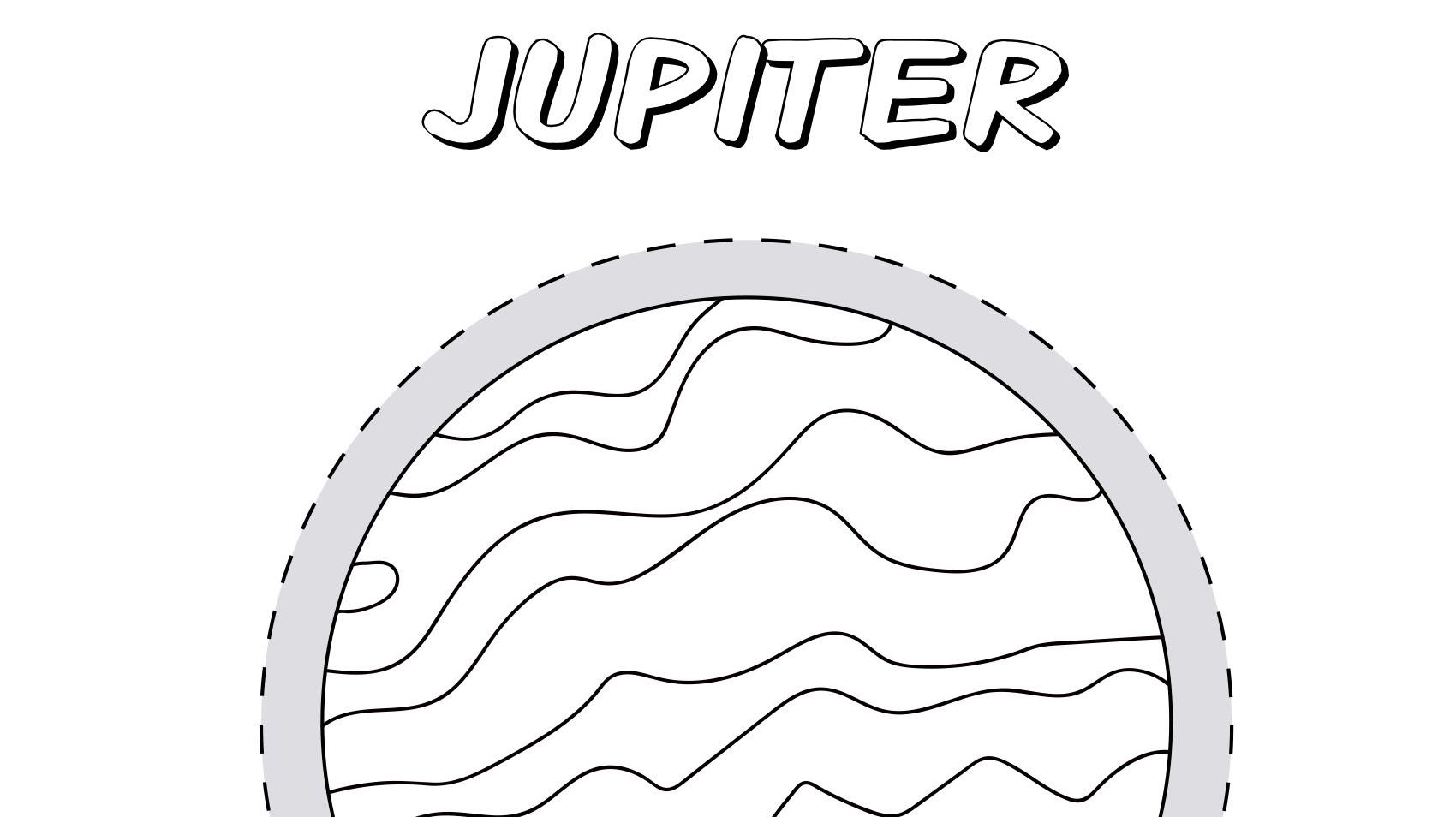 Planet Jupiter Coloring Page | Kids Coloring… | PBS KIDS ...