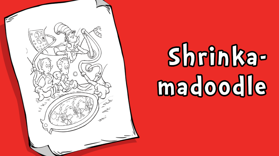 shrinkamadoodle coloring page