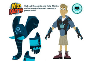 Wild Kratts Coloring Pages. Printable Sheets For Free (40) | 205x300